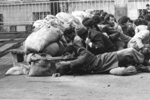 Straßenkämpfe in Teheran