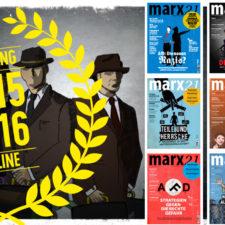 marx21-Magazine Jahrgang 2015 und 2016 kostenfrei als PDF