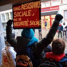 Der Generalstreik in Belgien ist ein Kampf für ganz Europa