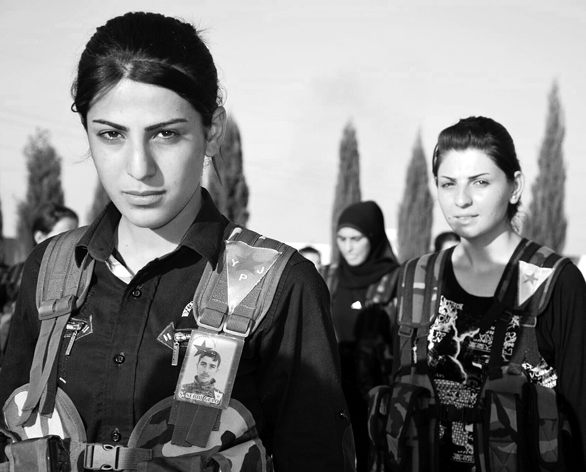 Flagge zeigen für die Kurden