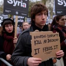 Friedensproteste – Keine Bomben auf Syrien!