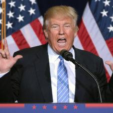 Die extreme Rechte hinter Trump
