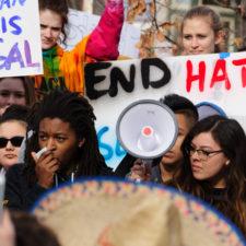 Eingewanderte streiken gegen Trump