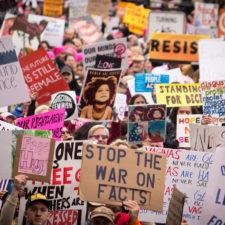 Aufruf zum Frauenstreik am 8. März