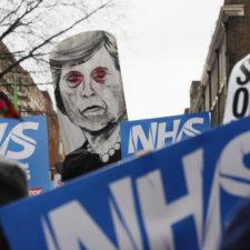 NHS-Krise: Briten verteidigen öffentliches Gesundheitssystem