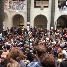 Studierendenprotest in Amsterdam: »Wir müssen uns mehr an die Außenwelt richten«