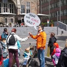 Eltern unterstützen den Streik im Sozial- und Erziehungsdienst