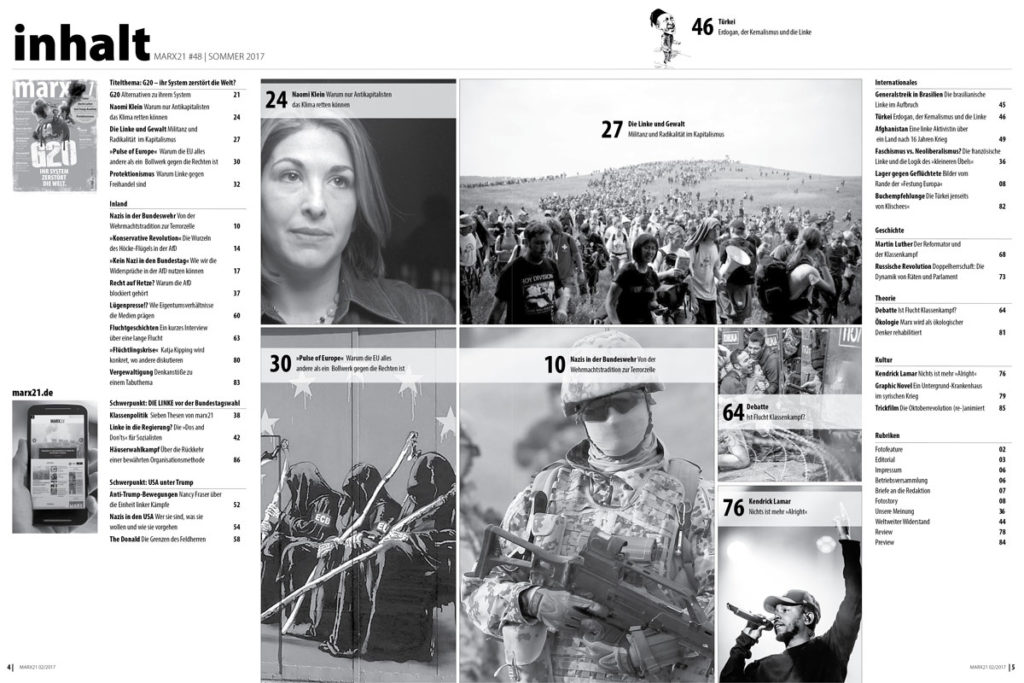 marx21 Magazin