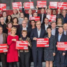 Solidarität mit den Beschäftigten bei Siemens