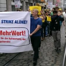 Erzieherinnen-Streik: »Gründet Soli-Bündnisse, wo immer ihr seid!«